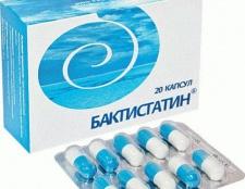 """Біологічно активна добавка """"бактістатін"""": інструкція із застосування"""