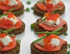 Бутерброди з червоною рибою: оформлення. Бутерброди: рецепти з червоною рибою