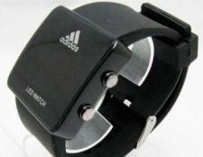"""Годинник """"адідас led watch"""": особливості"""