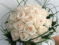 Квіти на весіллі, їх роль і значення