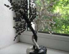 Дерево інь-янь з бісеру та інші прикраси для дому