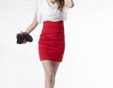 Довгі сукні із завищеною талією. Форма сукні із завищеною талією