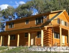 Будинок з бруса своїми руками. Технологія будівництва
