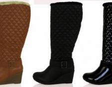 Дуті чоботи жіночі - данина моді чи найтепліша взуття?