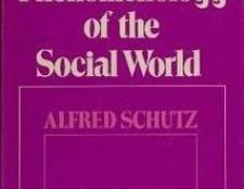 Феноменологічна соціологія. Філософія гуссерля і ідеї шютц