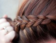 Французька коса навпаки - практичний варіант зачіски на всі випадки жезні
