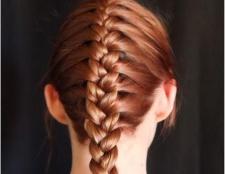 Французька коса - схема плетіння. Як заплести французьку косу самій собі на бік?