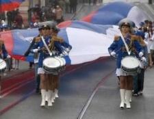 Головне свято країни - день незалежності росії
