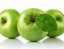 Яблука семеренко: опис, користь
