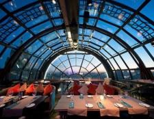 Кафе в москві на даху - відмінний романтичний сюрприз для другої половинки