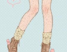 Як правильно голити ноги? Чим краще голити ноги