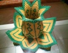 Як зробити об'ємне орігамі?