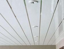 Як зробити стелю з пластикових панелей? Монтаж стелі з пластикових панелей своїми руками