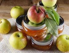 Як варити варення з ранеток і яблук
