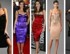 Як вибрати плаття з корсетом