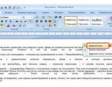 Як виділити весь текст? Виділення тексту за допомогою курсору і контекстного меню
