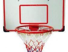 Який діаметр баскетбольного кільця?