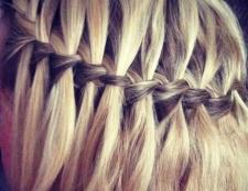 Коса-водоспад для довгого волосся