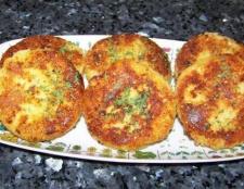 Котлета з картоплі: рецепт з фото