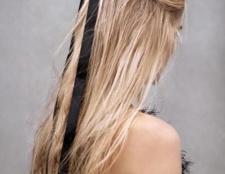 Красиві зачіски зі стрічками у волоссі