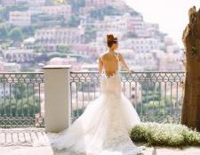 Красиві весільні сукні з відкритою спиною