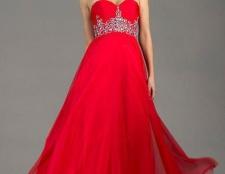 Червоне вечірнє плаття в підлогу