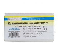 Ліки «ксантинолу нікотинат» - ефективний засіб для поліпшення кровообігу