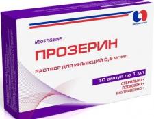 """Ліки """"прозерин"""": інструкція із застосування"""
