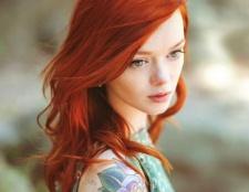 Мідний колір волосся. Особливості фарбування і догляду