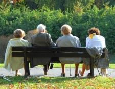 Мінімальна пенсія по старості. Порядок нарахування та розмір