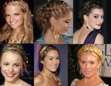 Модний елемент - коса: зачіски на середні волосся собі самій