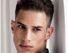Чоловіча зачіска з виголеним скронею: різновиди