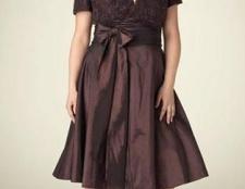 Найбільш привабливі вечірні сукні для повних дам