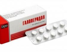 """Нейролептическое засіб """"галоперидол"""": інструкція із застосування"""