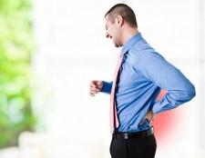Ниючий біль в попереку: причини і лікування