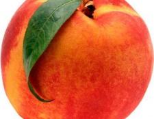 Персик - калорійність, вплив на здоров'я і фігуру