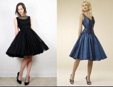 Сукня у стилі 60-х. Моделі суконь