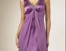 Сукні з шовку: фасони і довжина