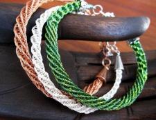 Плетіння з дроту своїми руками: схеми з описом
