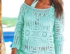 Пляжна туніка і плаття: як вибрати або зробити самостійно