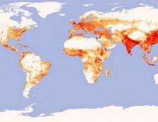 Щільність населення росії. Щільність населення країн світу