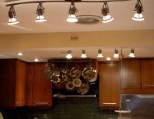 Підсвічування для кухні: види і переваги використання. Світлодіодне підсвічування для кухні - відмінне дизайнерське рішення