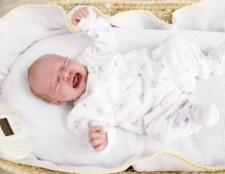 Пронос у новонародженого, що робити? Лікування проносу у новонароджених