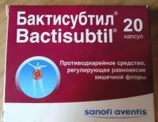 Препарат «бактісубтіл»: інструкція із застосування і опис