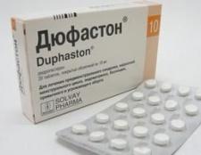 Препарат «дюфастон»: інструкція із застосування