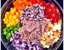 """Салат """"веселка"""": рецепт приготування з фото"""