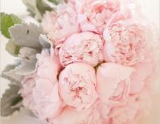 Весільний букет з піонів - відмінний вибір