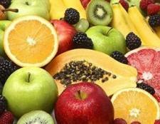 Таблиця калорійності фруктів і ягід