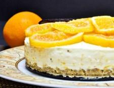 Торт фруктовий: рецепт без випічки. Як приготувати фруктовий торт