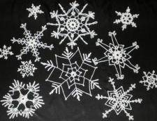 В'язання сніжинки гачком - справа тонка